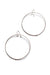 extra large Evident earrings in silver