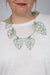 Ada Wrap Necklace / Wall Hanging in Pale Green