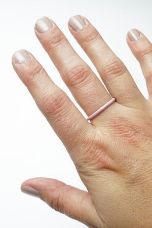 Stacking Ring in Bubble Gum
