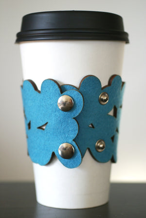 cozy/cuff SNAP - light turquoise