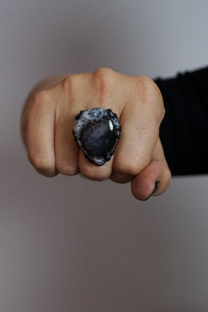 Contra Noir ring / size 9