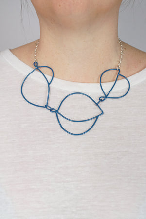 Embiller Necklace in Azure Blue