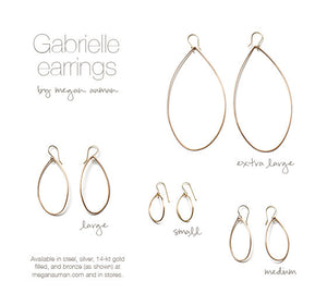 Gabrielle earrings - size medium