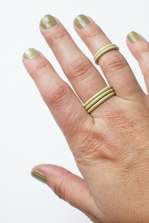 Stacking Ring in Green Sand