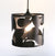 loop leaf medium pendant lamp - matte black