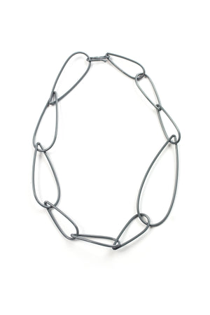 Modular Necklace No. 2 in Storm Grey