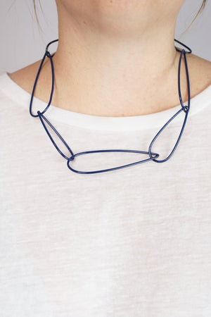 Modular Necklace No. 6 in Blue Sapphire