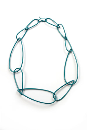 Modular Necklace No. 6 in Bold Teal