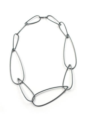 Modular Necklace No. 6 in Storm Grey