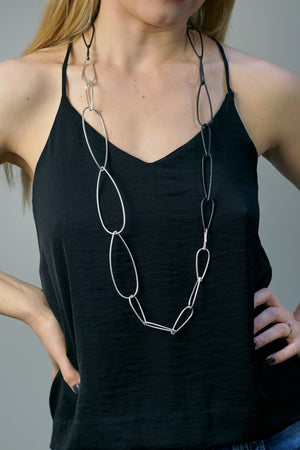 long Modular Combo necklace