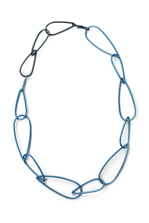 Modular Necklace in Azure Blue and Dark Navy