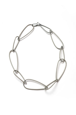Modular Necklace No. 1 in Stone Grey