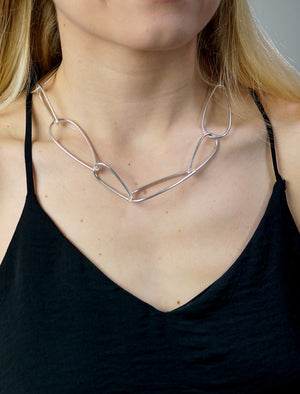 Modular Necklace No. 1 in silver