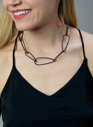 Modular Necklace No. 1 in steel