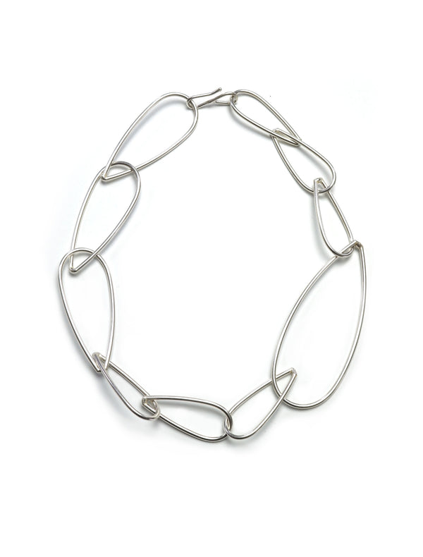 Modular Necklace No. 2 in silver