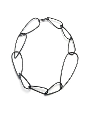 Modular Necklace No. 2 in steel