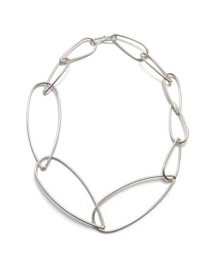 Modular Necklace No. 3 in silver