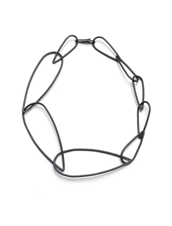 Modular Necklace No. 3 in steel