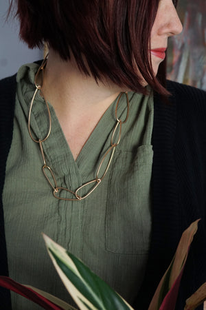 Modular Necklace No. 4 in bronze