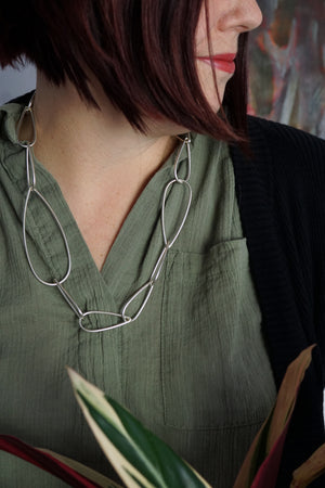 Modular Necklace No. 4 in silver