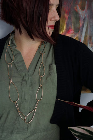Modular Necklace No. 5 in bronze