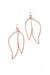 Petale Statement Earrings in Dusty Rose - sample sale