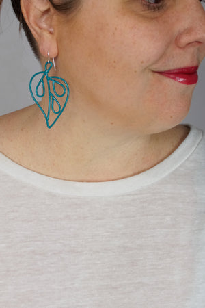 Petite Ada Earrings 1 in Bold Teal
