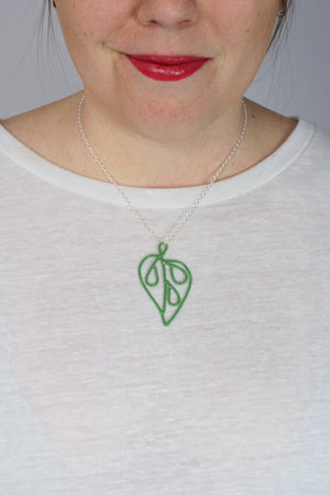 Petite Ada Pendant 1 in Fresh Green