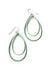 Rachel earrings in Pale Green and Soft Mint