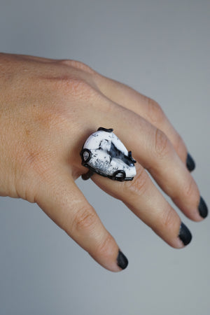 Contra ring / size 7