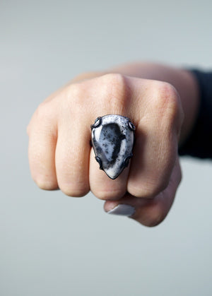 Contra ring / size 8