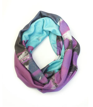 Sibling Rivalry skinny infinity scarf