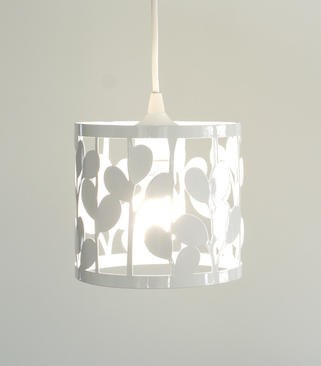 vertical leaf small pendant lamp