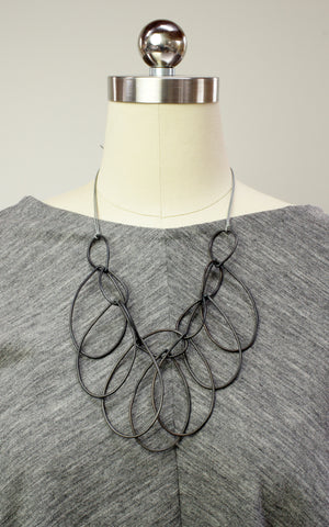 Melissa necklace in steel - sample sale