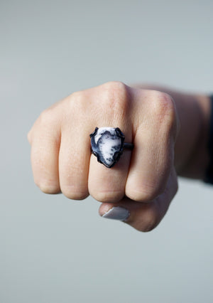 tiny Contra ring / size 8