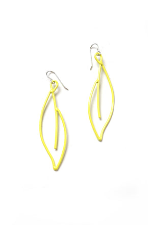 Verdoyante Earrings in Bright Yellow