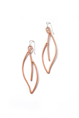 Verdoyante Earrings in Dusty Rose
