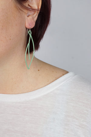 Verdoyante Earrings in Pale Green