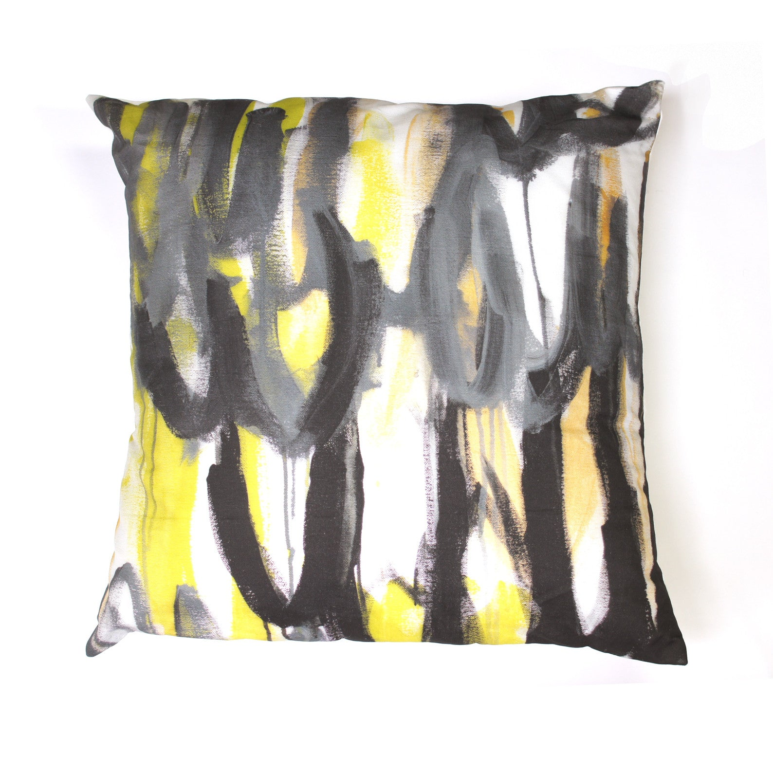 Wings Pillow in yellow