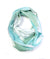 Wings aqua lightweight scarf