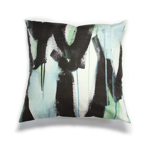 Wings Pillow in teal