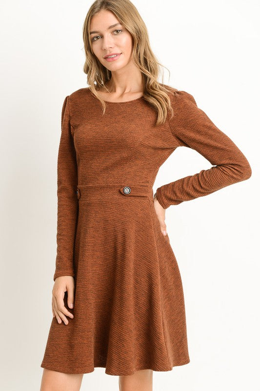 """The Stars are A-Lined"" Knit Dress"