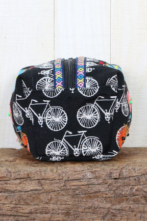 Beaded and Embroidered Origami Bag