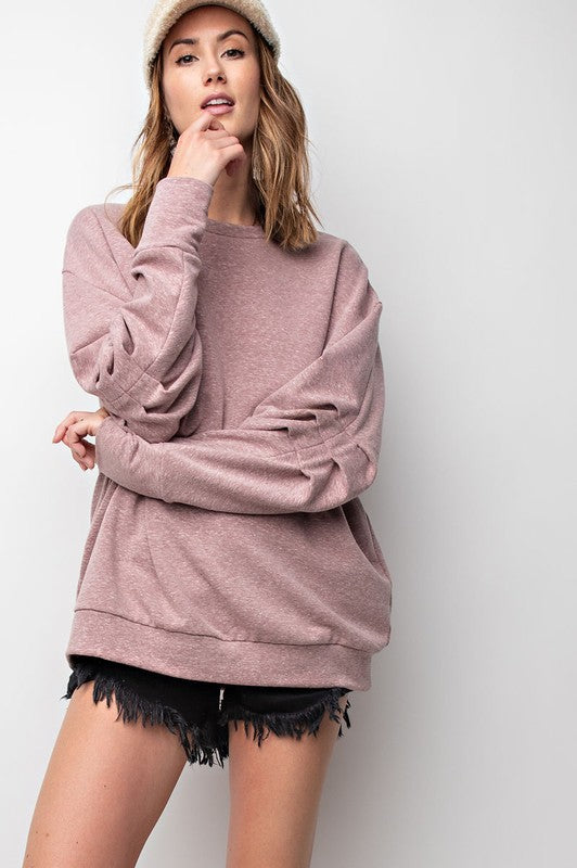 Easy Pullover Sweatshirt
