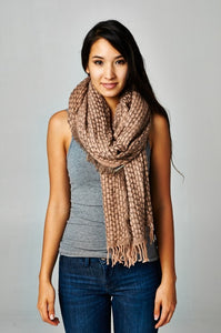 Hatch Weave Scarf