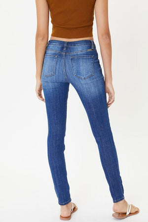 Midrise Distressed Jeans