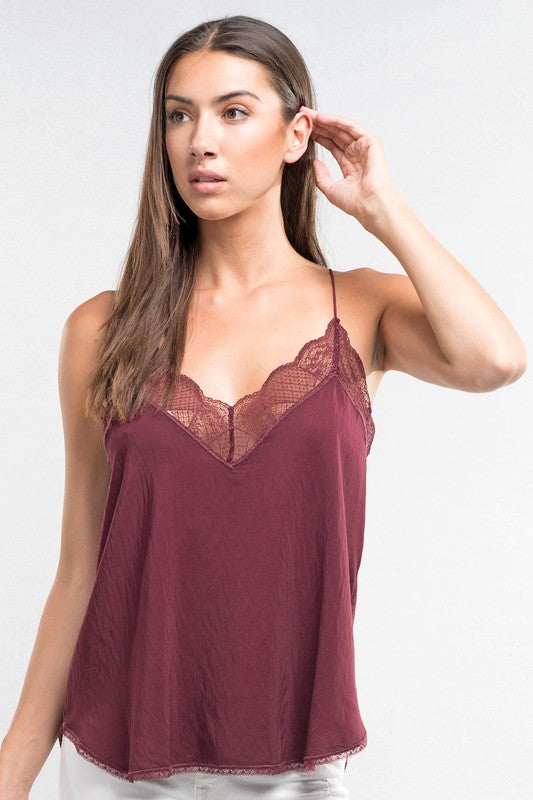 Lingerie Inspired Camisole (4 colors)