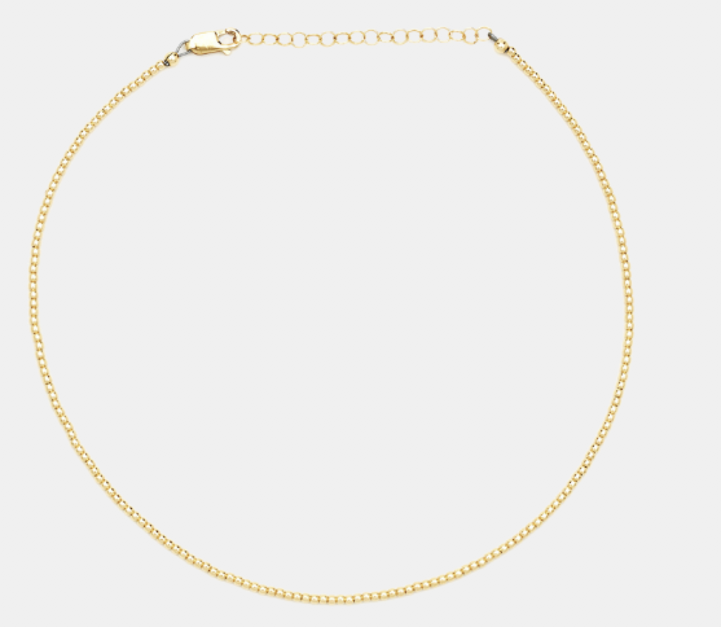 2MM Yellow Gold Filled Necklace