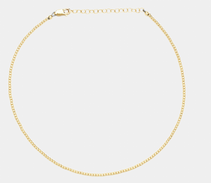 3MM Yellow Gold Filled Necklace