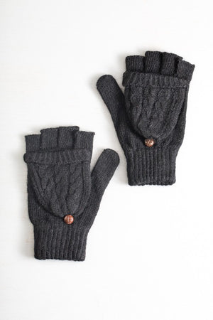 Fingerless Mitten Gloves